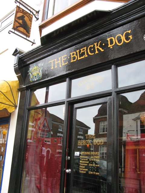 The Black Dog micropub Whitstable Kent