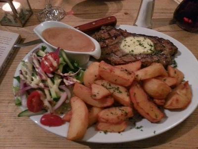 Steak. Such Steak. The Black Griffin Canterbury