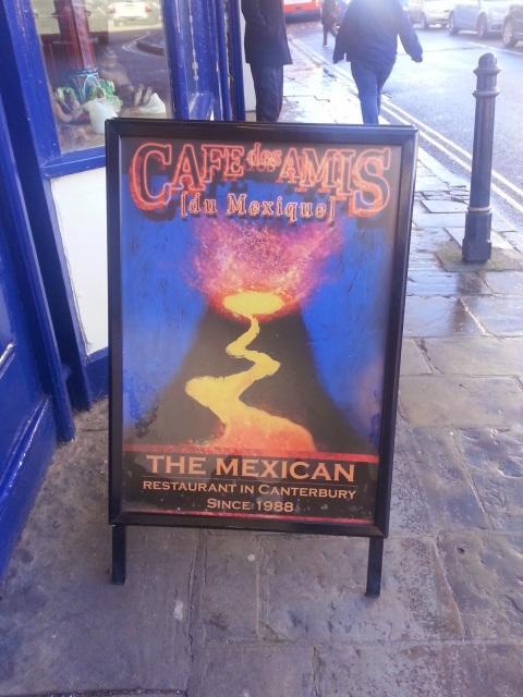 Cafe Des Amis, Canterbury (Canterbury), mexican Canterbury