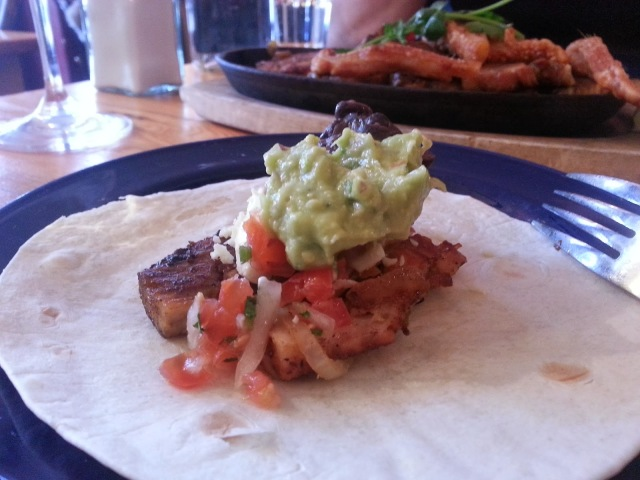 Cafe Des Amis, Canterbury (The Demon Gin), pork fajitas mexican review, places to eat Canterbury