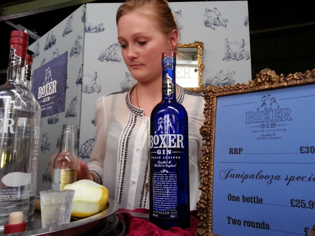 The Demon Gin, Junipalooza, gin festival, london, shoreditch, best gin, gin tasting, boxer gin