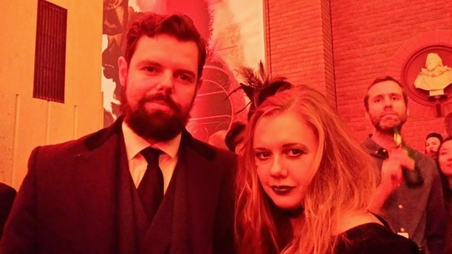 The Demon Gin, adult face painting, British Library gothic, halloween, The Sorting