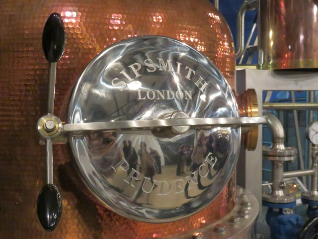 the demon gin, sipsmith, sipsmith distilllery tour, distillery tour, craft gin, london gin